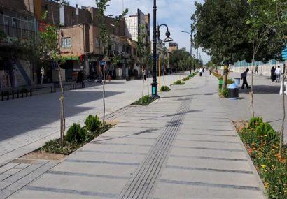 ۴ خیابان اصلی منتهی به حرم مطهر به پیاده راه تبدیل میشود