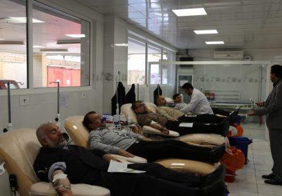 شرکت نمایندگان مردم قم در پویش ملی اهدای خون،کار خیر