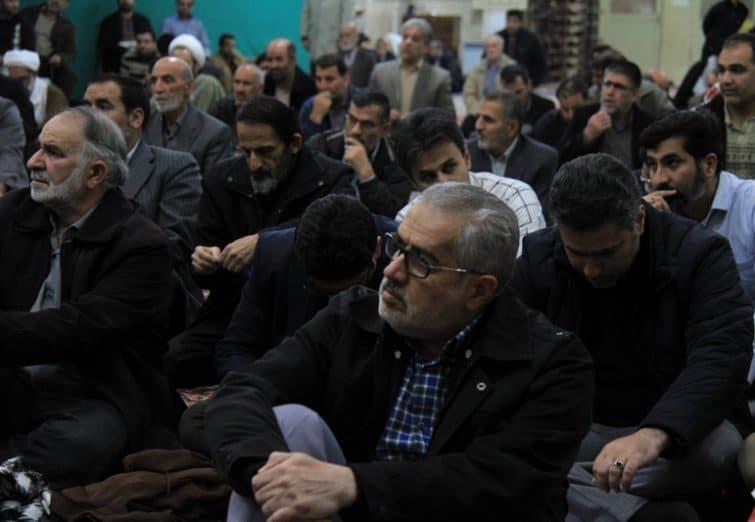 نشست صمیمانه اعضای شورای اسلامی شهر قم با اهالی شهرک شهید زینالدین
