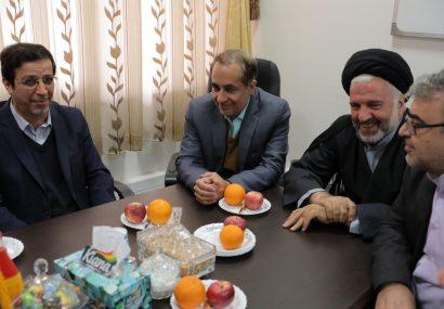 دیدار شهردار کلانشهر قم با اعضای شورای اسلامی شهر مقدس قم-نوروز۱۳۹۸