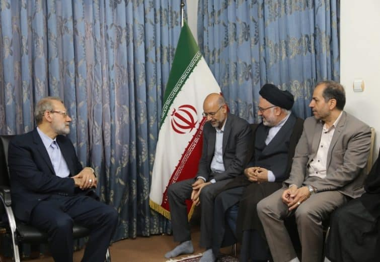 دیدار نوروزی اعضای شورای اسلامی شهرقم با رئیس مجلس شورای اسلامی