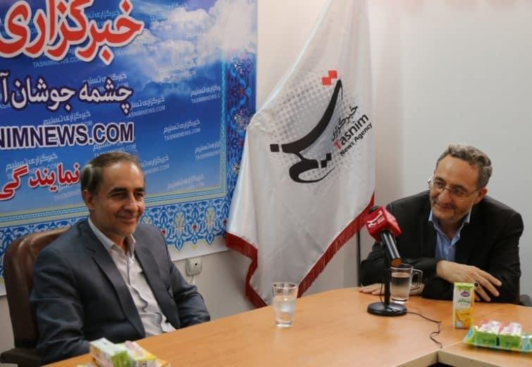 بازدید اعضای شورای اسلامی شهر قم از خبرگزاری تسنیم قم