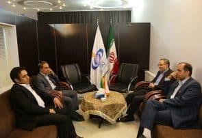 بازدید اعضای شورای شهر قم از دفتر خبرگزاری فارس در استان قم