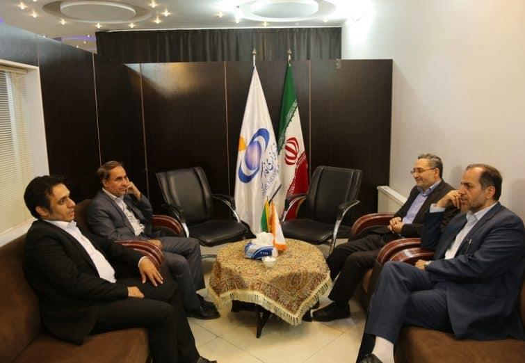 بازدید اعضای شورای اسلامی شهر قم از خبرگزاری فارس قم