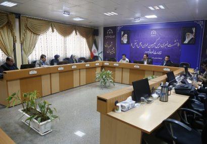 نشست خبری رئیس کمیسیون عمران و حمل و نقل شورای اسلامی شهرقم-آبان۱۳۹۸