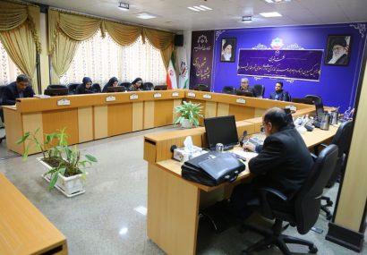 نشست خبری رئیس کمیسیون برنامه و بودجه شورای اسلامی شهرقم-آذر۱۳۹۸