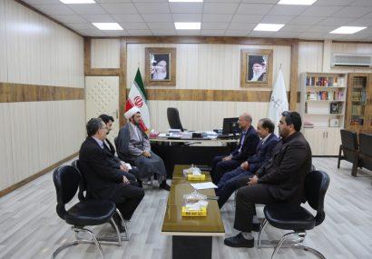 دیدار اعضای شورای اسلامی شهر مقدس قم با دادستان محترم شهرستان قم