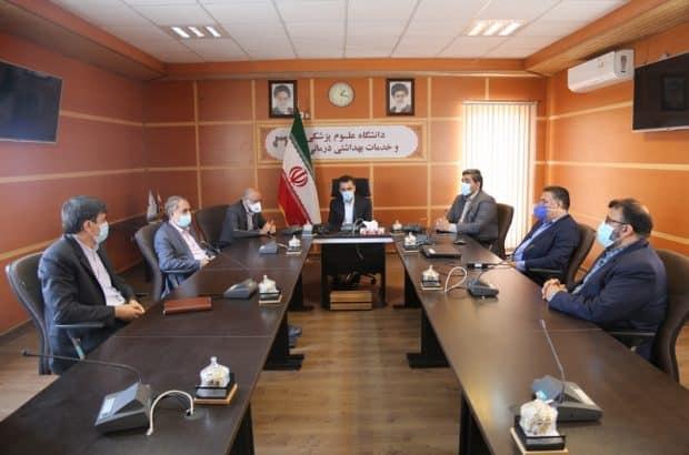 دیدار اعضای شورای اسلامی شهر با رئیس دانشگاه علوم پزشکی قم