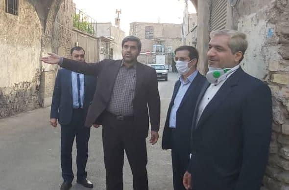تلاش برای بازگشایی خیابان شهیدان برقعی تا پایان سال ۹۹