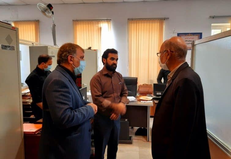 بازدید رئیس شورای شهر قم از مناطق سه و شش شهرداری قم