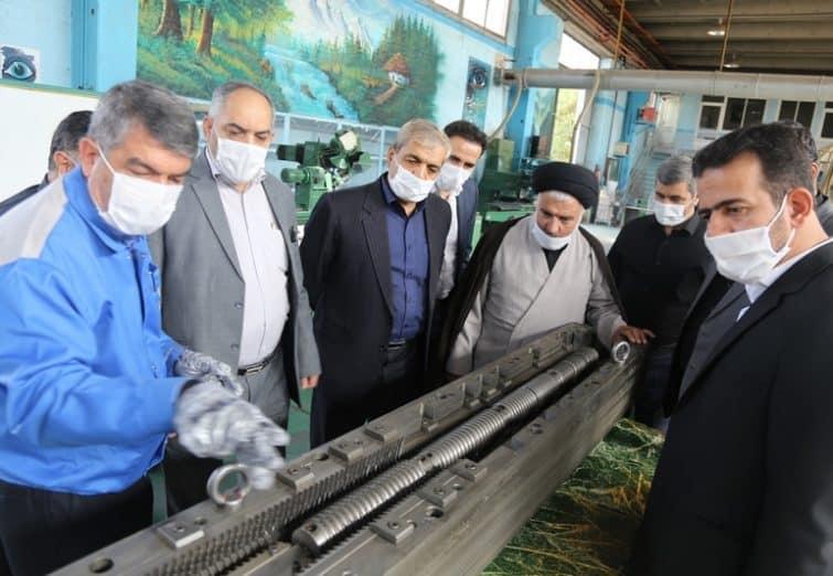 بازدید اعضای شورای اسلامی شهر قم از شرکت تولید موتورهای دیزل ایران