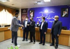 شورای اسلامی شهر قم از افتخارآفرینان پاراالمپیکی تجلیل کرد