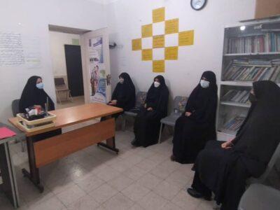 بازدید بانوان عضو  شورای اسلامی شهر قم و مدیر کل دفتر زنان و خانواده استانداری قم از مراکز بهزیستی